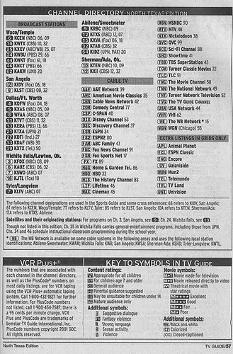 https://flic.kr/p/4e5761 | North Texas Edition (June 1, 2002) | From my TV Guide collection.
