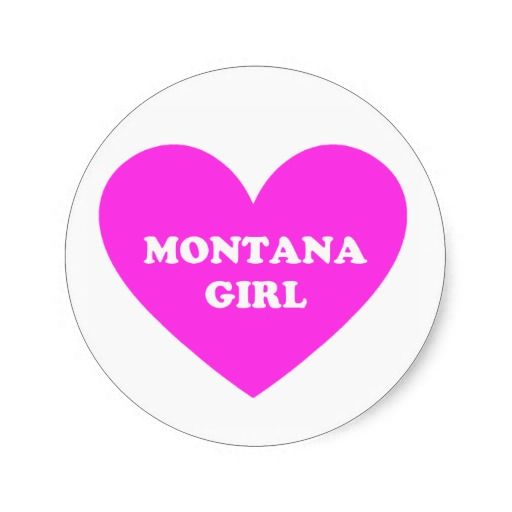 Montana Girl Sticker