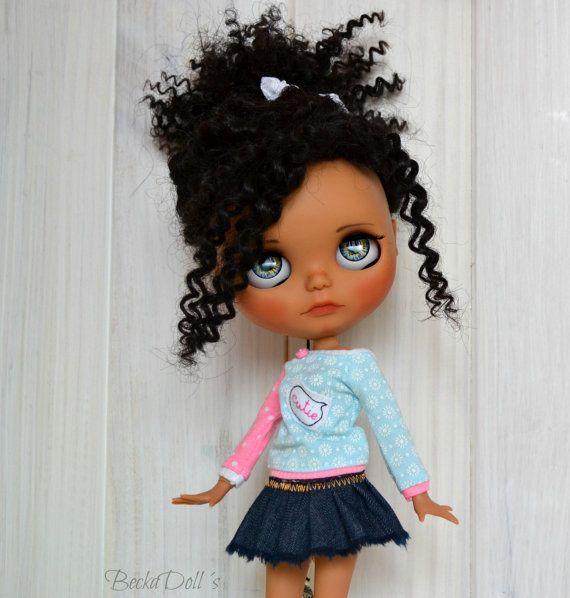 RESERVE for Tantty Ooak Custom Blythe Doll Wefted por BeckaDolls