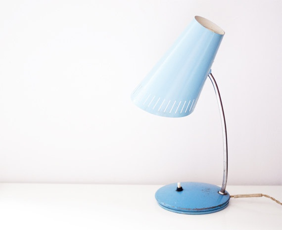 Vintage table lamp by CuteOldThings on Etsy
