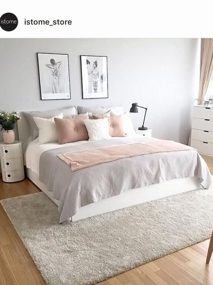 Modern White Bedroom Ideas Inspirational 27 Modern Bedroom Ideas 2019 Bedroom Designs Decorating In 2020 Pink Bedroom Decor Grey Room Decor Pink And Grey Room