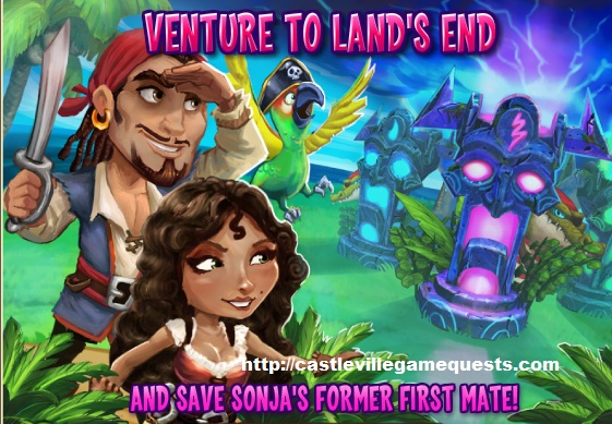 Castleville Game Sonja Tale of Two Pirates Quests Guide