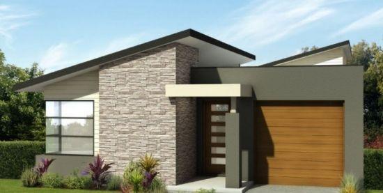 6. Casa mica cu fatada moderna