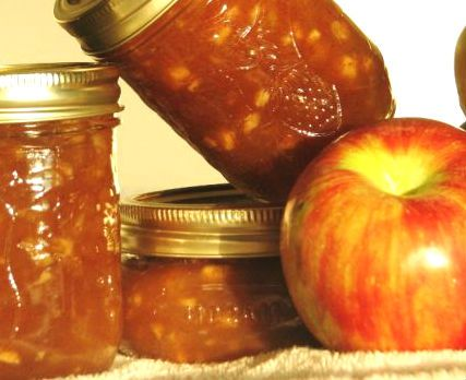 Delicious #apple #jam that will sweeten the cold winter days.