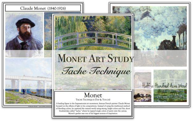 Monet Art Project: Impressionist Art Technique