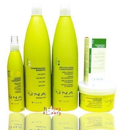 UNA Oxygenating Treatment Against Hair Loss Drops Rolland 3.17oz Intensive Protein Treatment500ml Revitalizing Conditioner 1000 mL Compensating Shampoo 1000ml Vitamin Leave-in Treatment 250 mL by Vidimear >>> Check this awesome product by going to the link at the image.