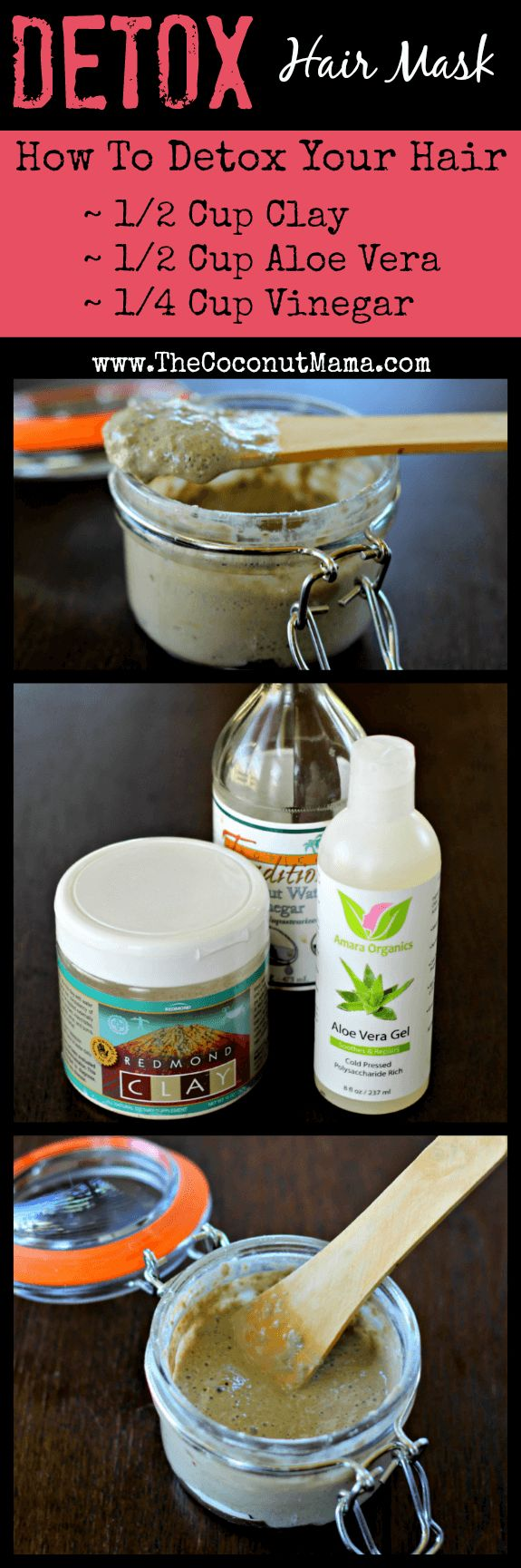 Detox Hair Mask: How To Detox Your Hair & Why You Want Too!