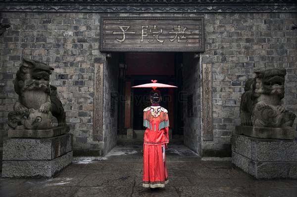 The Red Dress by Rui Yuan