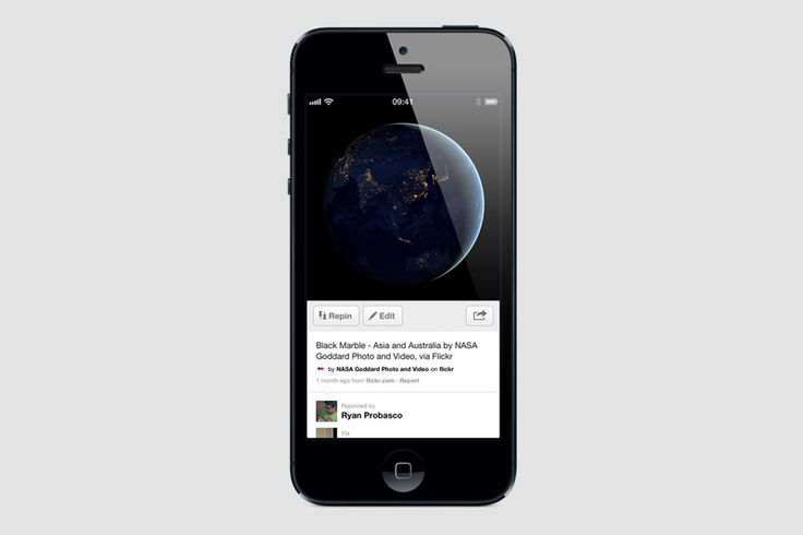 Pinterest iPhone and iPad App: Version 2.2, via the Official Pinterest Blog