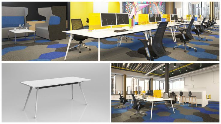 This office design is surprisingly affordable. We based the design around our large range of premier tables to create these workspaces.  http://www.jpofficeworkstations.com.au/