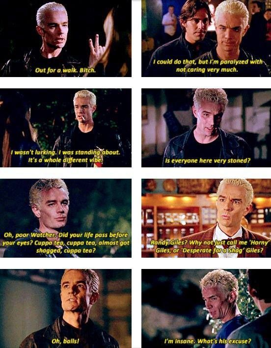 Spike quotes - Buffy the Vampire Slayer