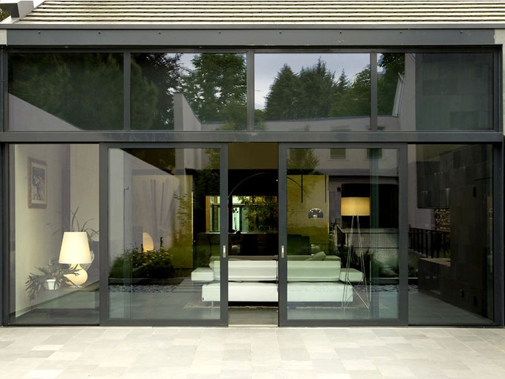 17 best ideas about sliding patio doors on pinterest for Full glass patio door