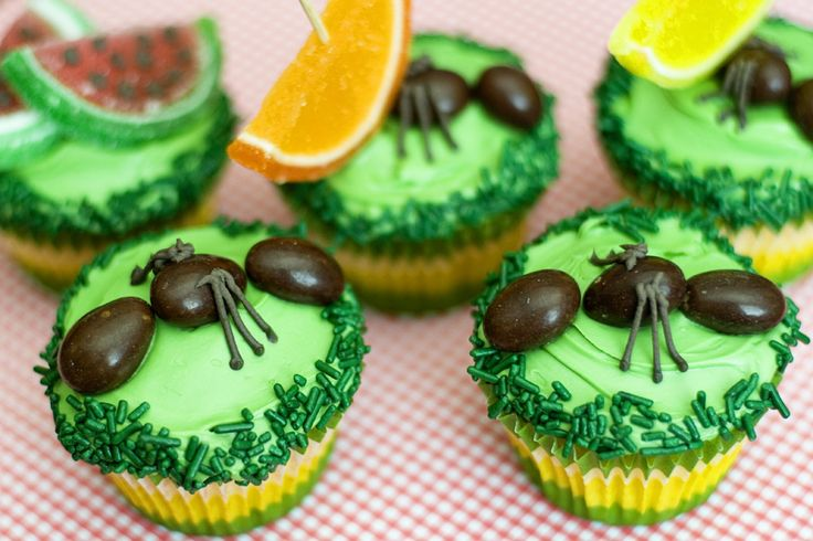 Ants on Cupcakes