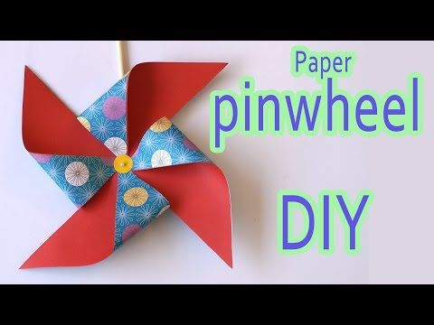 In this video tutorial I show you step by step how to make a Paper Pinwheel Site:  Twiter :  Facebook: …