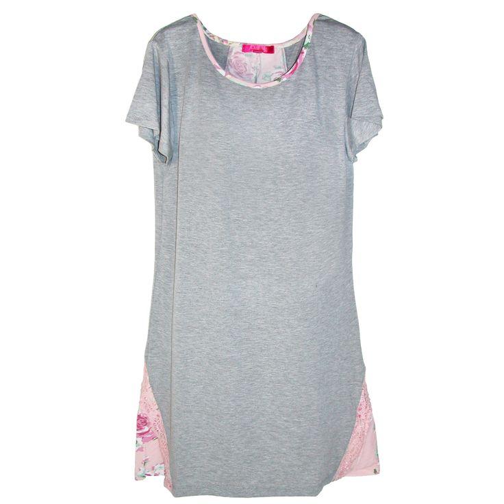 Catherine Malandrino Women's Plus Size Sleep Shirt Nightgown