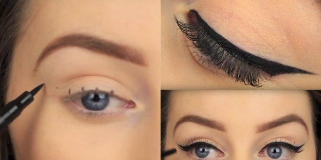 Cat-Eye Liner for Big Eyes #smallwingedliner