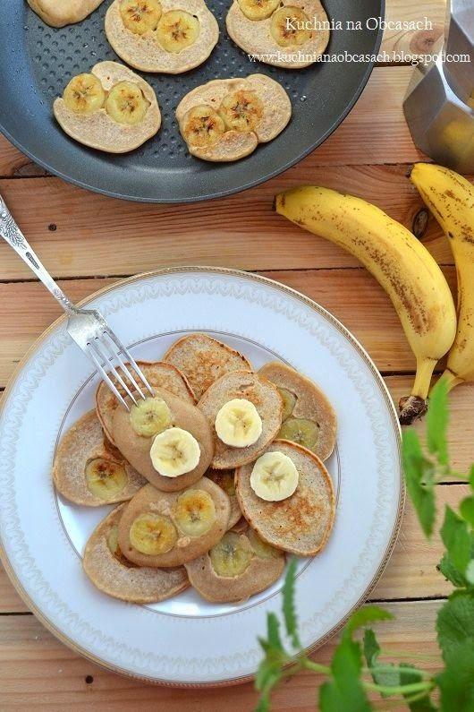 kuchnia na obcasach: Placuszki z bananem