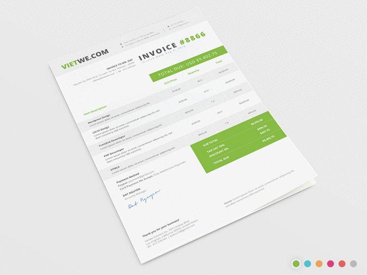 Best 25+ Invoice template ideas on Pinterest Invoice design - freshbooks free invoice