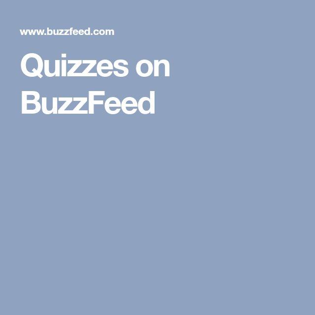 Quizzes on BuzzFeed