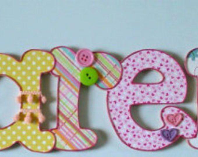 Bei nomi in legno per bambini (6 lettere)