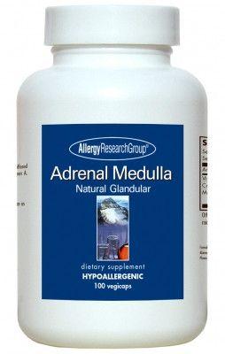 Allergy Research Group Adrenal Medulla Natural Glandular 100 Vegicaps