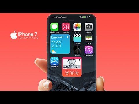 #интересное  Безрамочный iPhone 7 с новыми возможностями (8 фото + видео)   Каким будет Apple iPhone 7 пока еще не известно, аппарат увидит свет только осенью этого года, но специалисты всевозможных ресурсов собирают воедино всю информацию, которая касается будущего флагм�