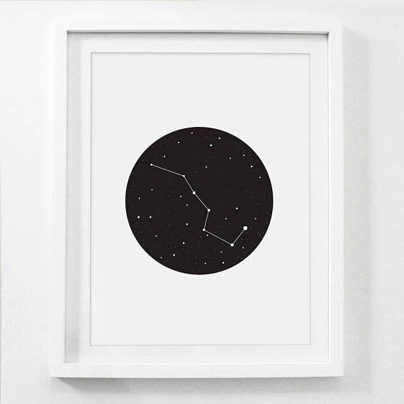 Cartel de la galaxia la Osa mayor Osa impresión póster de