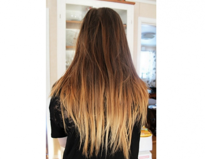 How to get #DIY #ombre #hair for cheap
