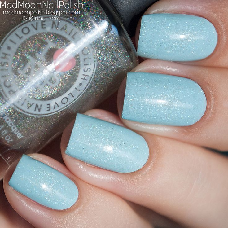 Nailpolis Museum of Nail Art | Essie Mint Candy Apple and ILNP My private Rainbow Swatch by Irina Zorg