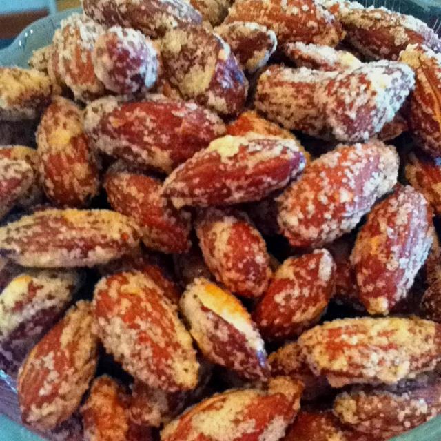 Salta mandlar/Salted almonds #lowcarb #lavkarbo #lchf #glutenfree #sugarfree