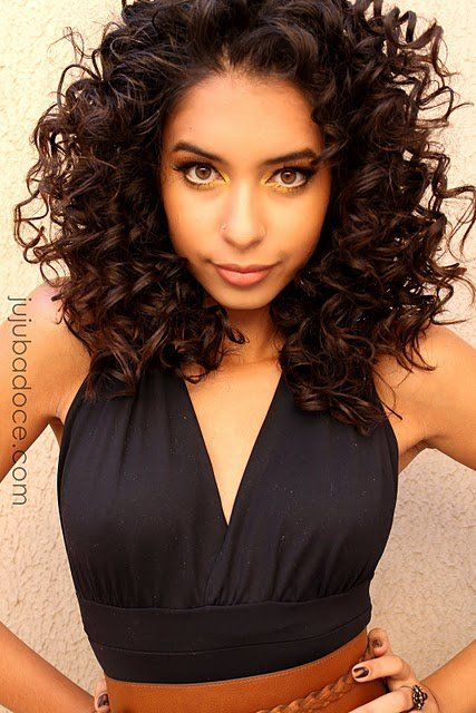 Hairstyle for short curly hair. I really like this! http://short-haircutstyles.com/category/wedding-bridesmaid-hairstyles