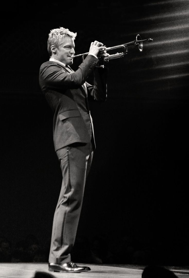 Chris Botti. His music is one of my favorites. It's like such wonderful poetry.
