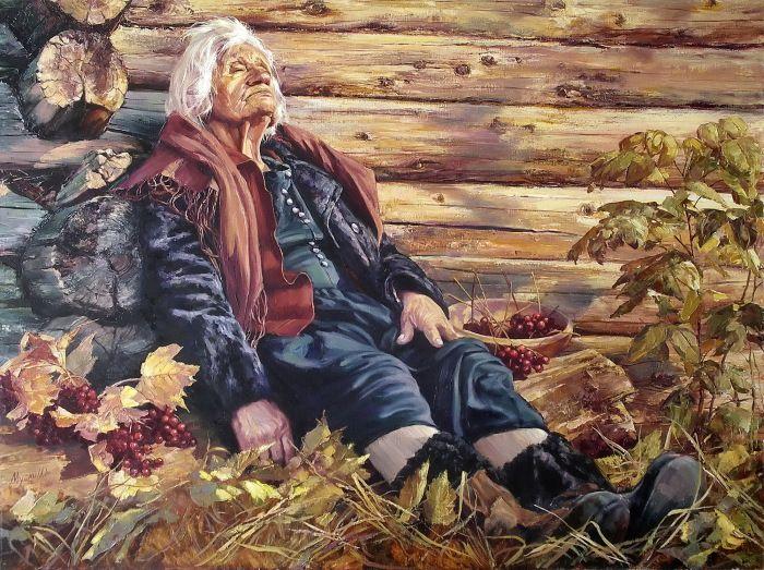 Бабье лето. Душевные картины талантливого художника Ирика Мусина (Irik Musin).