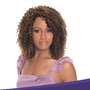 curly weave protective style images