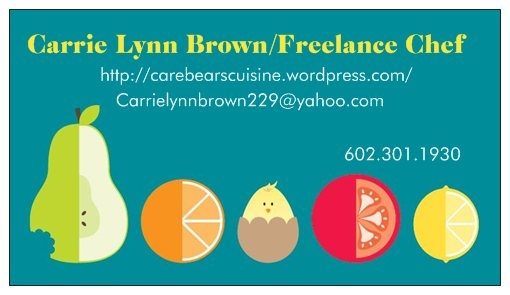 business cardsBusiness Cards, Chefs Projects, Personalized Chefs, Cards Templates