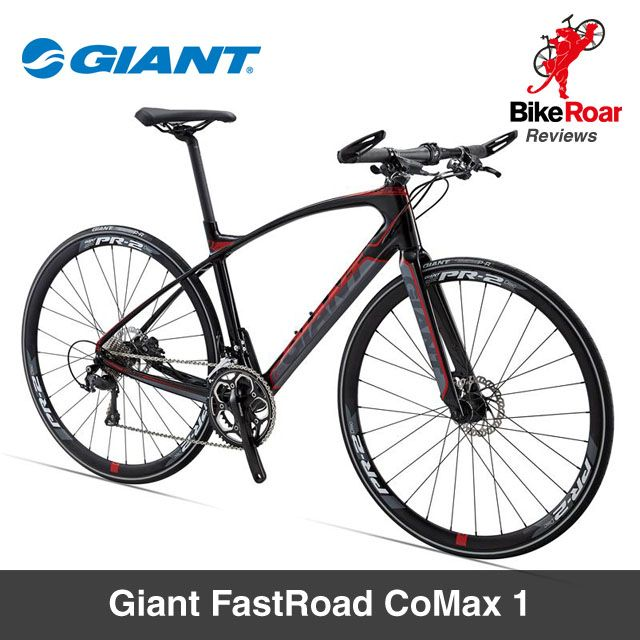 Sexy flat bar road bike that can chew through miles with comfort.  EDITOR'S REVIEW : Giant FastRoad CoMax 1 (2015): http://www.bikeroar.com/products/giant/fastroad-comax-1-2015 #giantbicycles #FastRoad #CoMax #commuter #flatbar #comfortable #carbon #discbrakes #bicycle #bike #review #bikereview