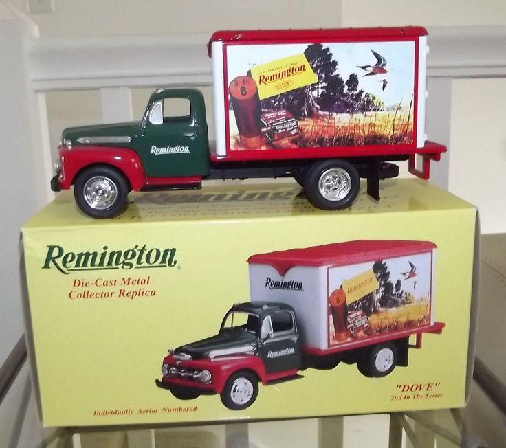 NIB First Gear Remington Game Bird Series Dove 1951 Ford Dry Goods Truck  #FirstGear #Ford