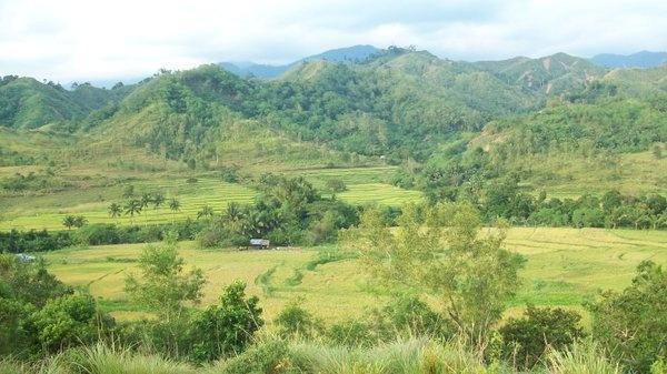 The mountains of Nueva Vizcaya