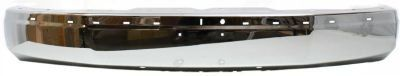 EvanFischer EVA17372019695 Bumper Front Steel Chrome With holes for license plate molding and upper cover ** Read more at the image link.