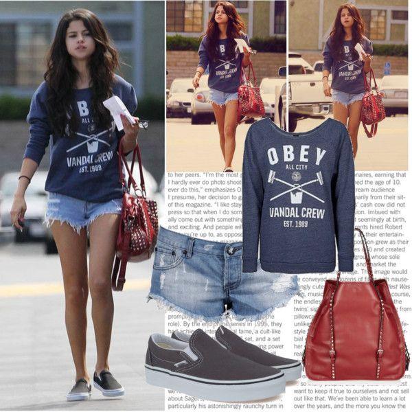 """Selena Gomez Style"" by pithufitha on Polyvore"