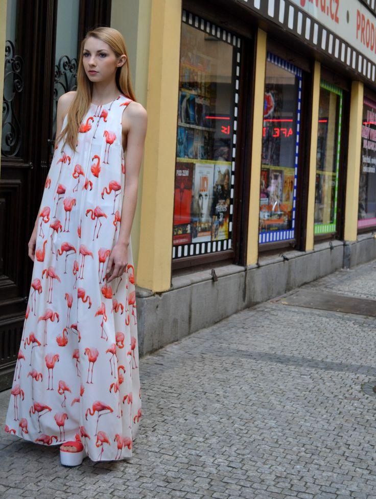 blogerka Pavlína Jágrová šaty TIQE