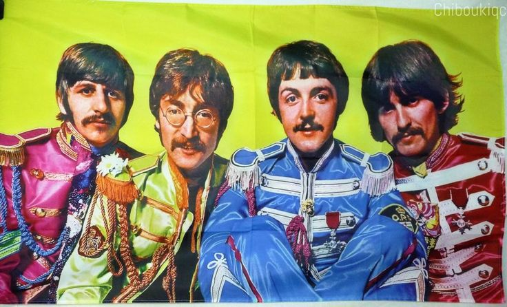 THE BEATLES Sgt Pepper HUGE 3X5 BANNER poster tapestry cd album cover art | eBay