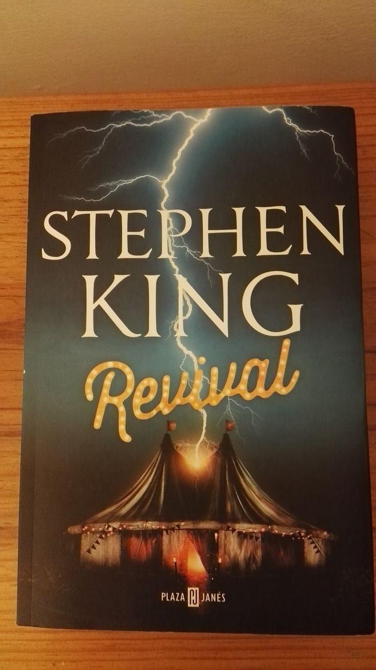 Stephen King es un maestro en el misterio, el suspenso y el terror. Revival es ejemplo.