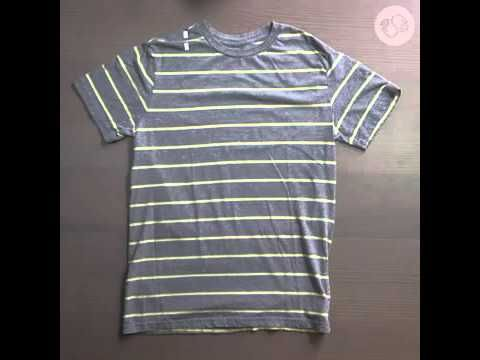 How to make a NO-SEW (TOTE BAG) with an old T-SHIRT - YouTube // no sew tee tote…