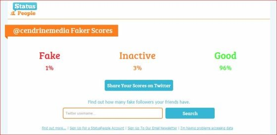 Find out how many of your Twitter followers are fake with Fake Follower Check