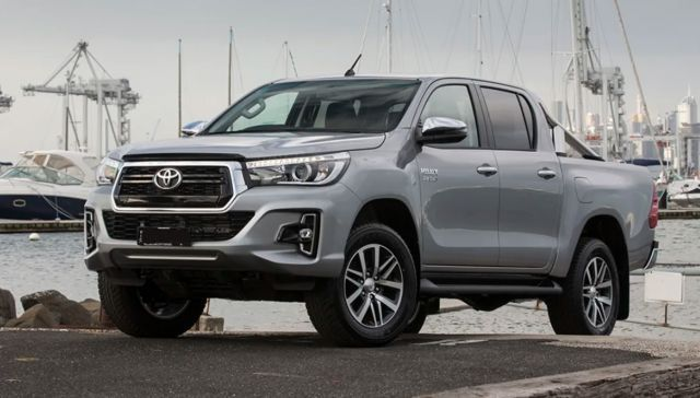 2021 Toyota Hilux Will Get New Headlights Larger Grille And Reshaped Taillights Toyota Hilux Toyota Toyota Tacoma Accessories