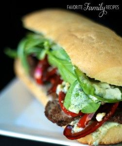 Use up all your leftover steak the day after a steak dinner with this perfect Gourmet Restaurant Steak Sandwich recipe.
