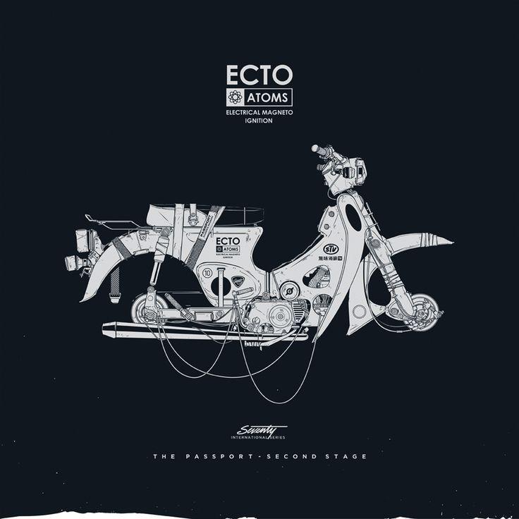 Vector Art by Gianmarco Magnani. «Print Nº 040: The Passport» (2012). Thanks to Luis García, from Nexo (Santander).