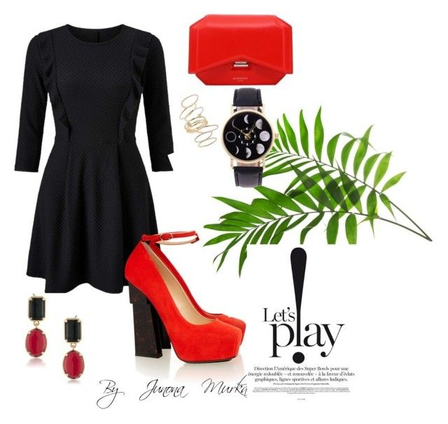 """""""Merry Christmas 3"""" by murka-juna on Polyvore featuring Miss Selfridge, Aperlaï, 1st & Gorgeous by Carolee, Givenchy and BP."""