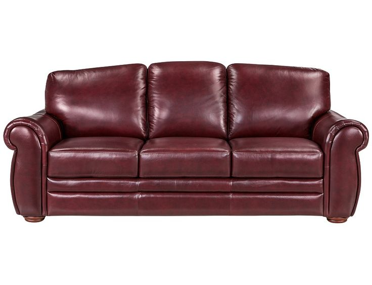 Slumberland Gallery Collection Burgundy Sofa For My Home Pinterest Galleries Leather